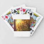 night bikes bicycle poker cards