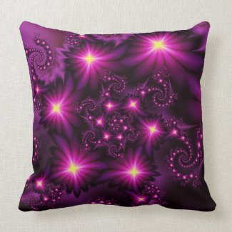 Night bloom pillow