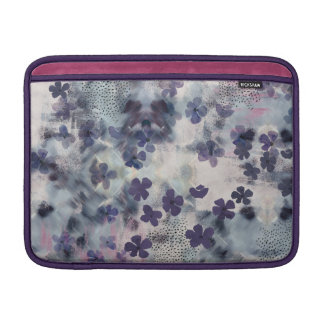 Night Blossom Floral MacBook Cover