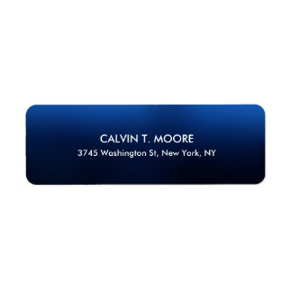 Night Blue Unique Special Professional Label