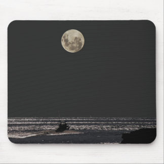Night Boat Ride Mouse Pad