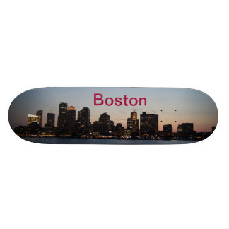 Night Boston skateboard