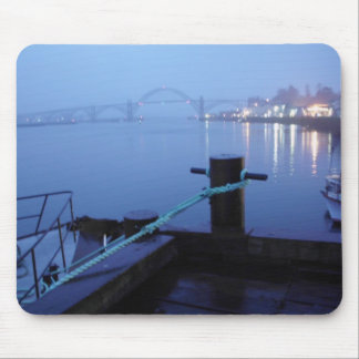 Night Bridge Mouse Pad