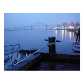 Night Bridge Postcard