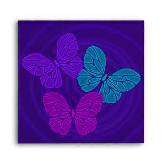 Night butterflies Envelope