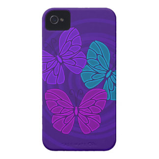 Night butterflies iPhone 4/4S Case Case-Mate iPhone 4 Case
