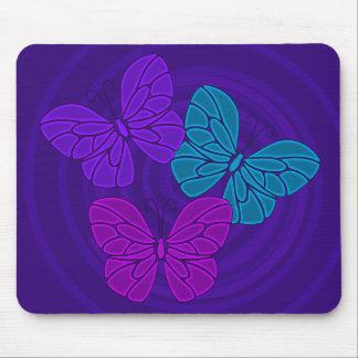 Night butterflies mousepad