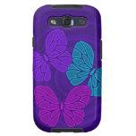 Night butterflies Samsung Galaxy Case Galaxy SIII Cases