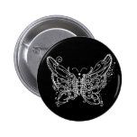 Night Butterfly Button
