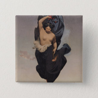 Night, c.1850-55 pinback button