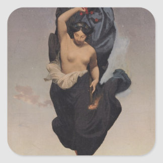 Night, c.1850-55 square sticker