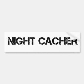Night Cacher Car Bumper Sticker