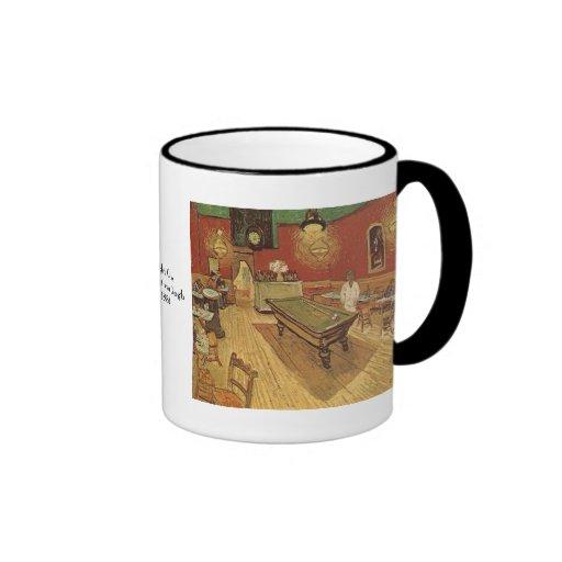 Night Cafe by Vincent van Gogh Ringer Coffee Mug