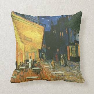 Night Cafe Painting by van Gogh Pillow