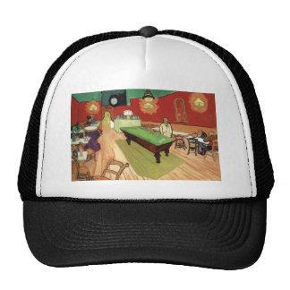 Night Cafe - Vincent Van Gogh Hats