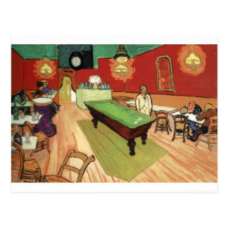 Night Cafe - Vincent Van Gogh Postcard