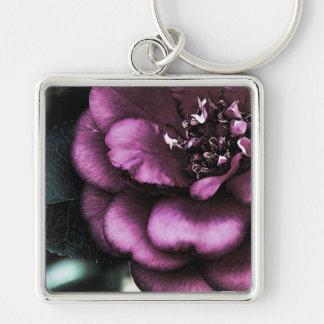 Night Camellia Keychain