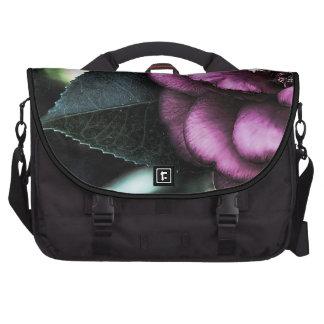 Night Camellia Laptop Computer Bag