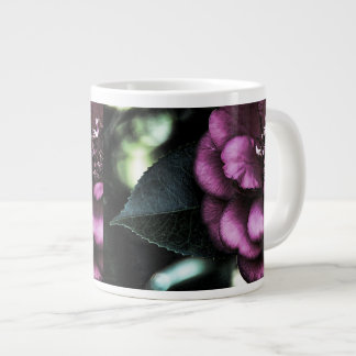 Night Camellia Large Coffee Mug