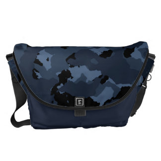 Night Camo Courier Bags