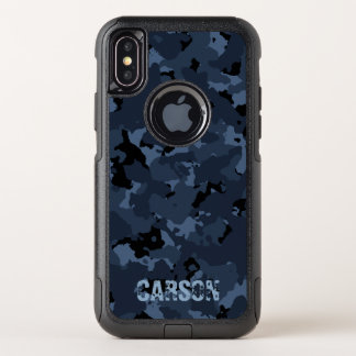 Night Camo Name Template OtterBox Commuter iPhone X Case