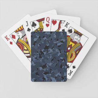 Night Camo Playing Cards
