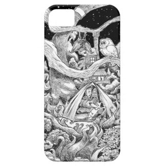 Night camping. case for the iPhone 5