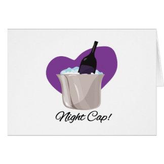 Night Cap Greeting Card
