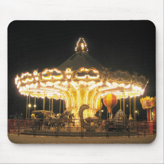 Night Carousel Mouse Pad