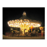 Night carrousel post cards
