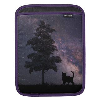 Night Cat Sleeve For iPads