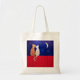 Night Cats Budget Tote Bag