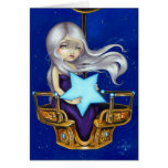 """Night Chariot"" Greeting Card"