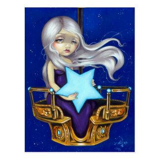 """Night Chariot"" Postcard"