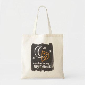 Night Cheese Tote Bag