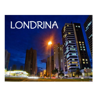 Night City Londrina Postcard