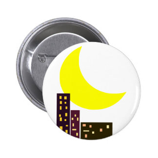 night city moon card button