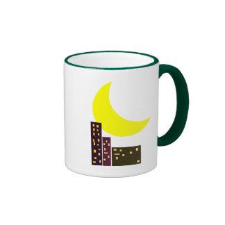 night city moon card ringer coffee mug