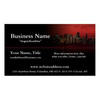 Night City Skyline Business Cards