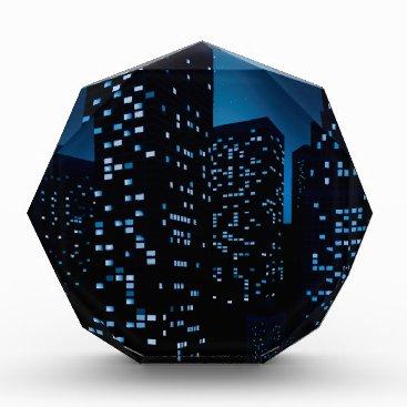 Professional Business Night Cityscape Background Award