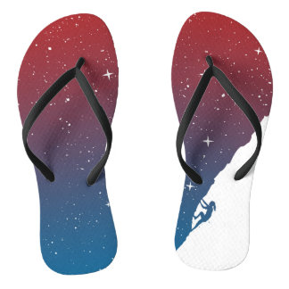 Night climbing II Flip Flops