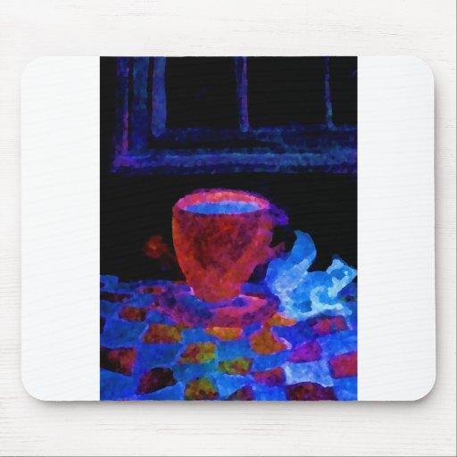 """Night Coffee""  CricketDiane Art & Design Mousepads"