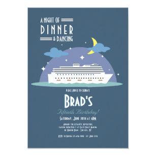Cruise Ship Invitations Zazzle