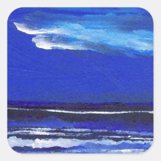 Night Dance  CricketDiane Ocean Art Square Sticker