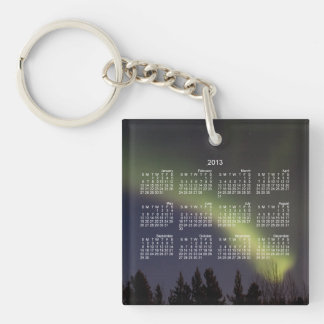 Night Dancing; 2013 Calendar Keychain