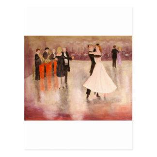 Night Dancing Postcard