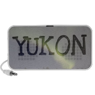 Night Dancing; Yukon Territory Souvenir Speakers