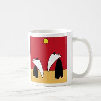 Night & Day - Raving Ravens Tazas De Café