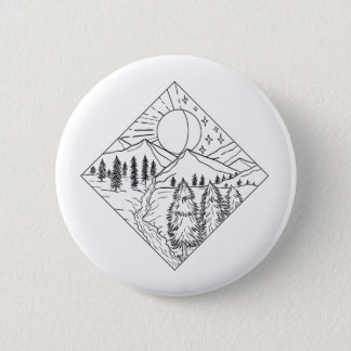 Night Day Sun and Moon Monoline Button