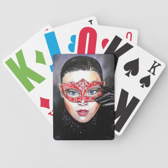 Night Desire Bicycle Playing Cards